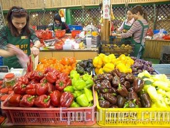 89% фруктов и овощей в Китае содержат вредные для здоровья химикаты. Фото: The Epoch Times