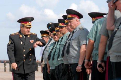 Украинские войска готовятся к параду в День Независимости. Фото: Владимир Бородин/Великая Эпоха