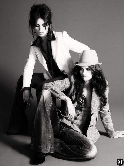 Пенелопа Круз и Моника Круз для коллекции Mango, сезона осень/зима 2008-2009