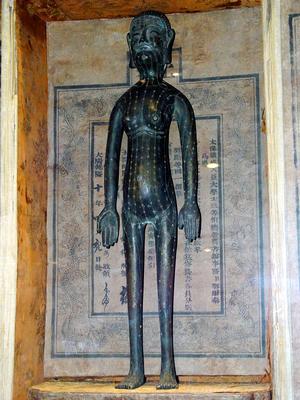 Акупунктурные точки на теле человека. Фото: Central New Agency Taiwan