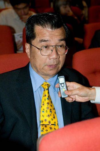 Цзянь Лян-Чи, генеральный директор таможни министерства Финансов, на представлении Шень Юнь в Гаосюн, 15 марта 2009 г. Фото: Ло Жуньсюнь/Великая Эпоха