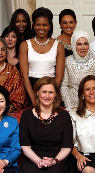 Первые леди стран G20. Фото: AFP/Getty Images