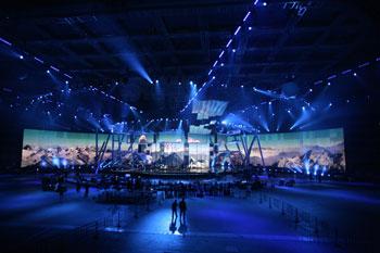 Евровидение-2009: Репетиция. Фото: MICHAEL ECKELS/Getty Images