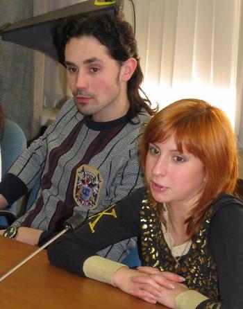 Яна Хохлова, Сергей Новицкий. Фото Николая Зуева