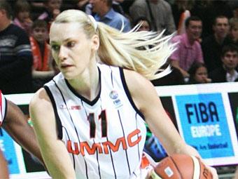 Мария Степанова. Фото с basket.ugmk.com