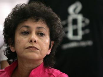 Генеральный секретарь Amnesty International Айрин Кан. Фото: Ronaldo Schemidt/AFP/Getty Images.