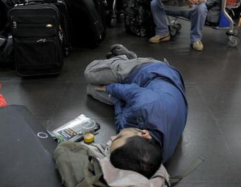 Человек, который никогда не спит. Фото: JUAN MABROMATA/AFP/Getty Images