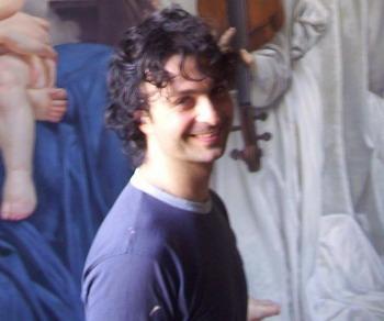 Максимилиан Сикконе, 37, художник. Фото: Великая Эпоха