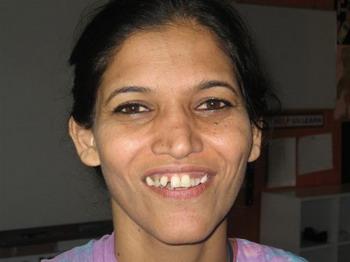 Дильбер Джамиль, 35, дошкольная учительница. Фото: Великая Эпоха