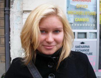 Ивана Кункова, 18, студентка. Фото: Epoch Times