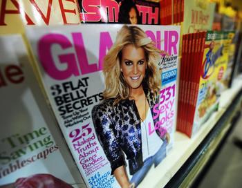 Журнал о моде Glamour. Фото: JEWEL SAMAD/AFP/Getty Images