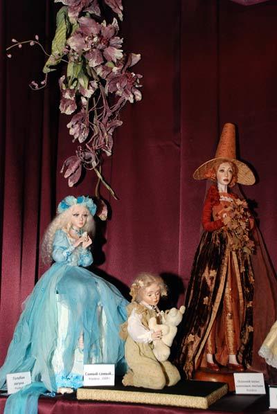 Работы художника по куклам Маргариты Ивановой. Фото: Юлия Цигун/Великая Эпоха