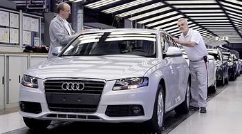 Компания Audi начала сборку автомобилей в Калуге. Фото: audi-mediaservices.com