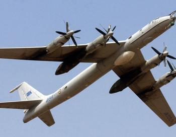 СамолётTU-142. Фото: INDRANIL MUKHERJEE/AFP/Getty Images