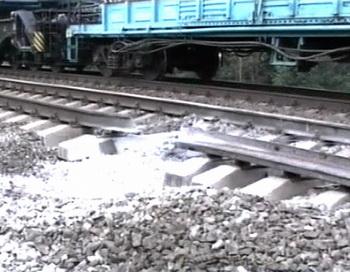 В Дагестане осуществлен подрыв железнодорожного полотна. Фото: NTV/AFP/Getty Images