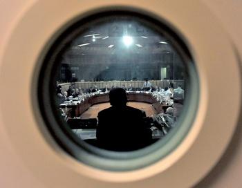 К встрече европейских министров финансов Брюссель подготовил доклад о ситуации с госфинансами в ЕС. Фото: GEORGES GOBET/AFP/Getty Images