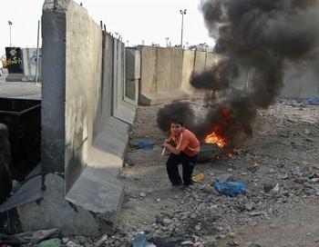 Human Rights Watch неоднократно критиковала Израиль и в частности обвинила его в военных преступлениях, совершенных, по ее утверждению, в ходе операции в секторе Газа в декабре-январе этого года.. Фото  AHMAD GHARABLI/AFP/Getty Images