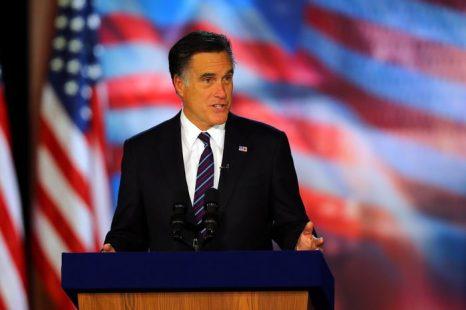 Митт Ромни. Фото: Joe Raedle/Getty Images
