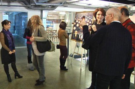 На площадке Центра дизайна ARTPLAY открылась выставка «Истина-Доброта-Терпение». Фото: Великая Эпоха (The Epoch Times)