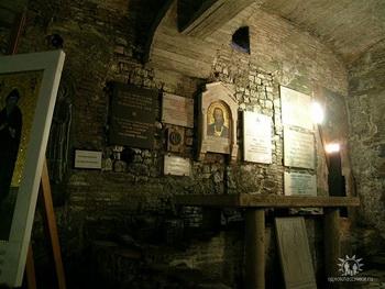 Предполагаемая гробница Кирилла в базилике св. Климента. Фото:Wikipedia.org