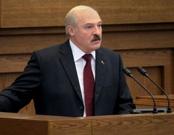 Президент Белоруссии Александр Лукашенко. Фото: MAXIM GUCHEK/AFP/GettyImages