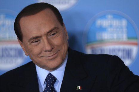 Бывший премьер-министр Италии Сильвио Берлускони на пресс-конференции, 1 февраля 2013 года, Рим, Италия. Фото: Filippo Monteforte/AFP/Getty Images