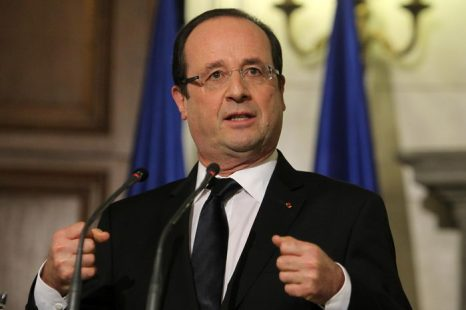 Президент Франции Франсуа Олланд. Фото: Thanassis Stavrakis - Pool/Getty Images