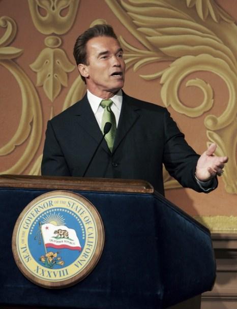 Арнольд Шварценеггер на посту губернатора штата Калифорния. 2004 год. Фото: David Paul Morris/Getty Images
