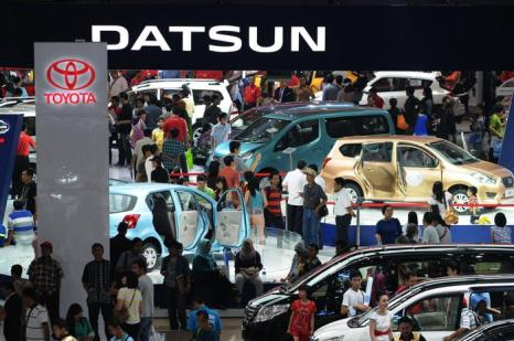 Международный, 21-й по счёту, автосалон Indonesia International Motor Show (ИИС) 2013 прошёл в столице Индонезии Джакарте в конце сентября 2013 года. Фото: Robertus Pudyanto/Getty Images