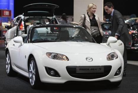 Mazda  MX-5. Фото: Sean Gallup/Getty Images