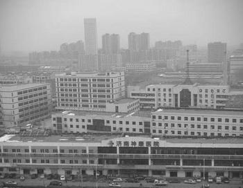 Внешний вид женской тюрьмы провинции Шаньдун. Фото:minghui.com