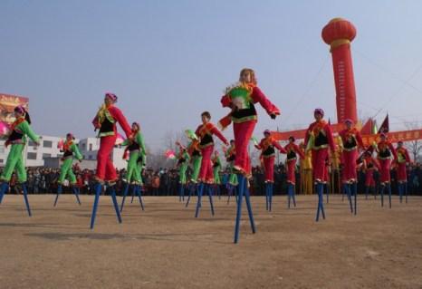 Праздник фонарей Юаньсяо в Китае.Город Цзинань провинции Шаньдун. Фото: AFP