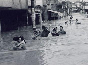 Китай продолжает страдать от наводнений. Фото: lotour.com
