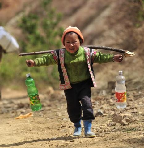 В Китае продолжается засуха. Апрель 2010 год. Фото: STR/AFP/Getty Images
