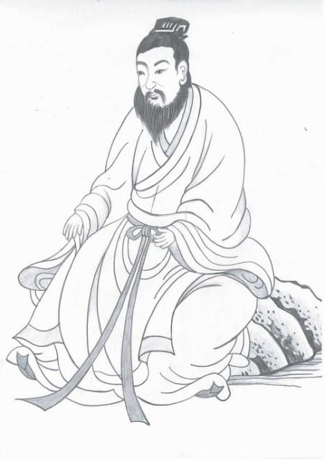 Ду Жухуэй — один из выдающихся государственных деятелей династии Тан. Иллюстрация: Йеун Фан/Великая Эпоха (The Epoch Times)