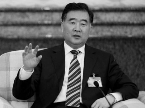 Ван Ян, известный реформатор, выступающий против  сторонников жёсткой линии на встрече политиков в Гуандуне, март 2010 г. Фото: Liu Jin/AFP/Getty Images