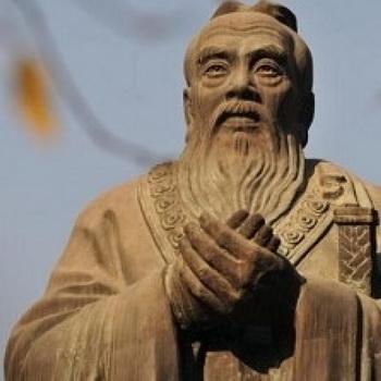 Китайский режим использует Конфуция для пропаганды своей идеологии.  Фото: Brown/AFP/Getty Images
