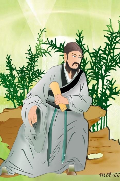 Ван Вэй - «поэт Будды» династии Тан. Иллюстрация: Катерина Чан/Великая Эпоха (The Epoch Times)