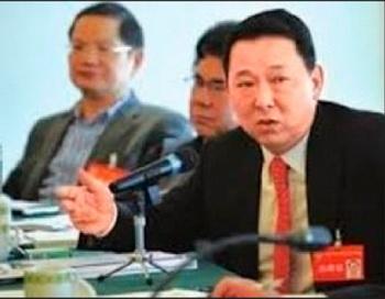 Генеральный директор Sichuan Hanlong Group Лю Хань в настоящее время задержан. Фото с сайта weibo.com