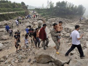 Оползни в Китае привели к гибели 50 человек. Фото:profi-forex.org