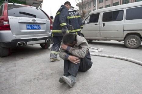 В Китае в Сиане произошло крупное дорожно-транспортное происшествие. Фото:Getty Images