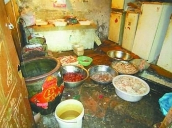Подпольный цех по производству фальшивой баранины. Фото с epochtimes.com