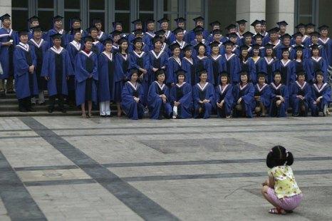 Большинство выпускников самых престижных китайских вузов уезжают в США. Фото: Getty Images