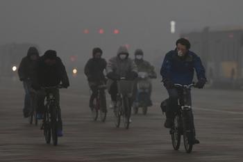Север Китая является одним из самых загрязнённых районов в мире. Фото: Feng Li/Getty Images
