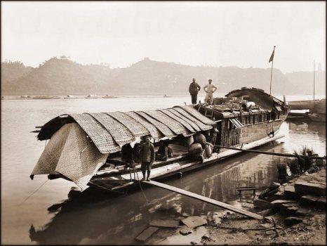 Лодка. 1909 год. Фото с kanzhongguo.com
