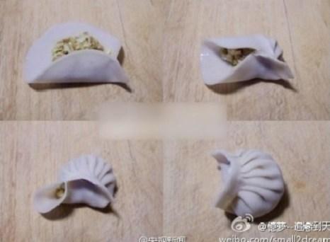 Необычные формы китайских пельменей. Фото: epochtimes.com