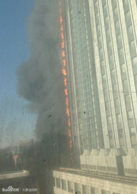 В ходе парламентской сессии в Пекине, во второй половине дня 4 марта, Тяньцзинь снова охватил огонь, правительство Тяньцзиня обвиняют в блокировании информации. Фото с epochtimes.com