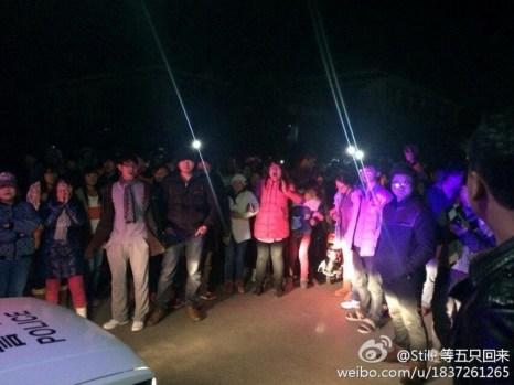 Бунт студентов в Китае. Провинция Юньнань. Декабрь 2013 года. Фото с epochtimes.com