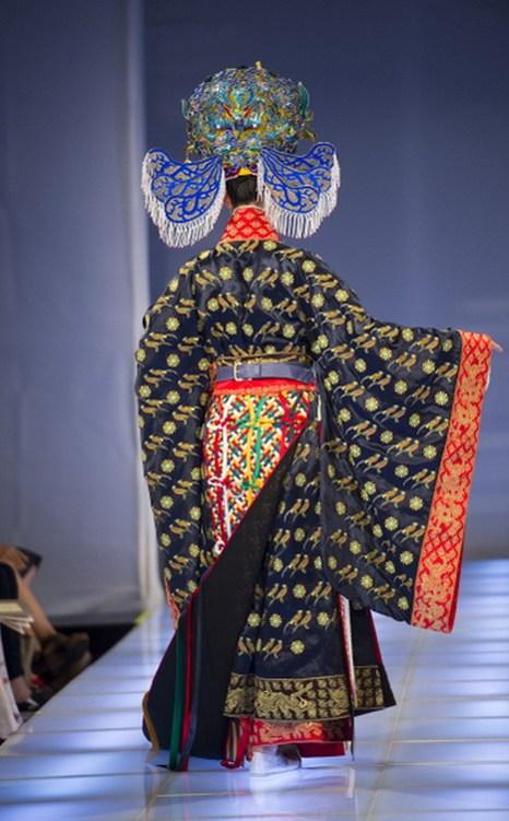 Вид сзади модели, получившей бронзовую награду. Фото: Dai Bing/Epoch Times