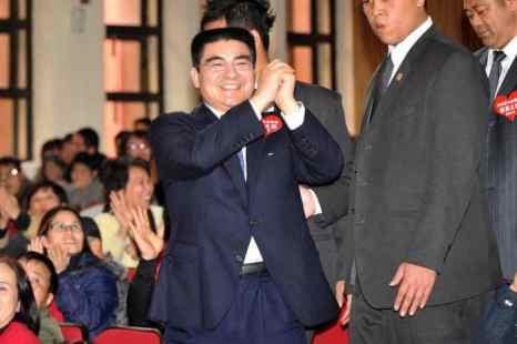 Чэнь Гуанбяо 27 января 2011 года. Фото: Patrick Lin/AFP/Getty Images
